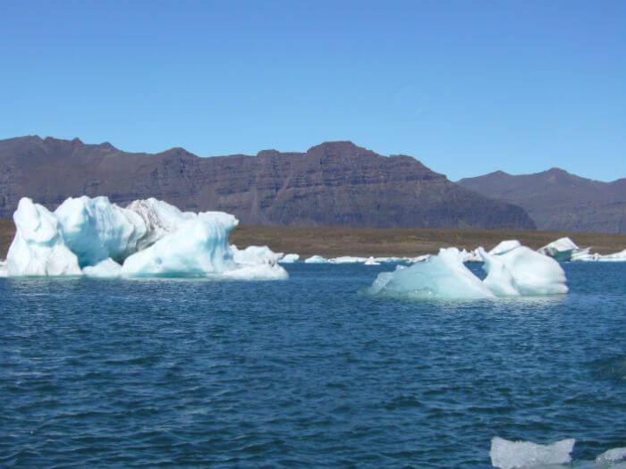 ijsschotsen meer