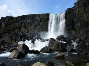 waterval nationaal park thingvellir