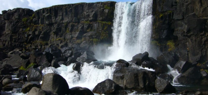 waterval nationaal park thingvellir